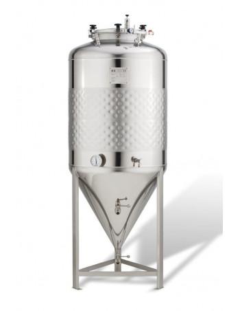 Cuve inox 240l cylindro-conique 2,5 b