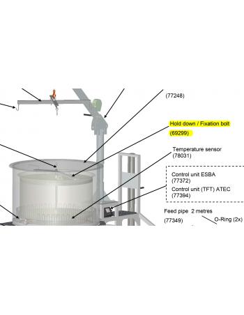 BARRE SERRAGE TUBE A MALT BRAUMEISTER 500/1000L