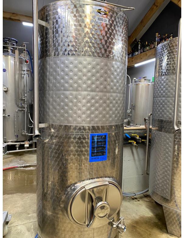 Cuve FSMO 1000 litres fermée D.820 fond conique
