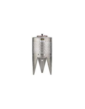 CUVE INOX 60L AVEC DOUBLE PAROI 0,3m²