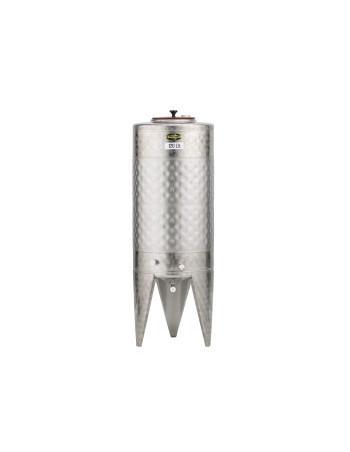 CUVE INOX 120L AVEC DOUBLE PAROI 0,6m² SEULE